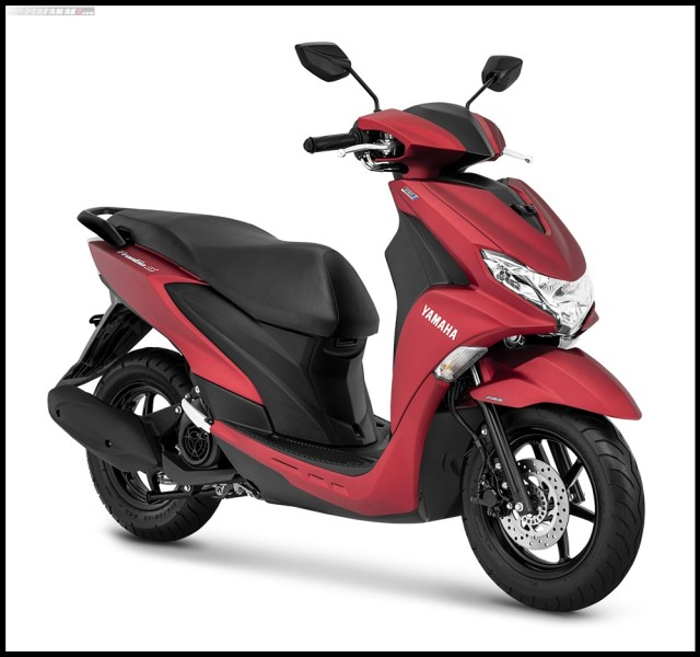 Yamaha FreeGo S Matte Red
