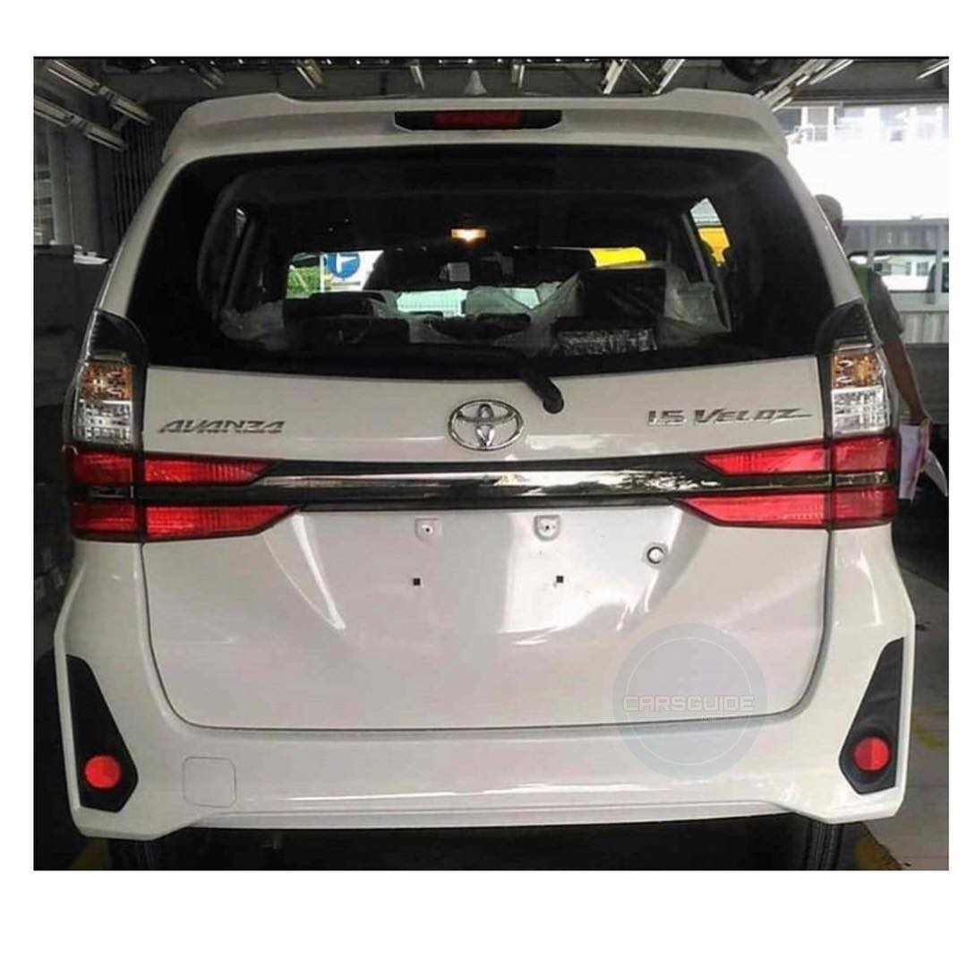dimensi grand new avanza garnish fog lamp toyota all veloz 2019 bagaimana om pertamax7 com belakang