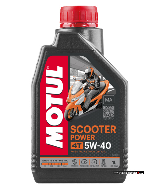 Preview Oli Motul Scooter Power 4T