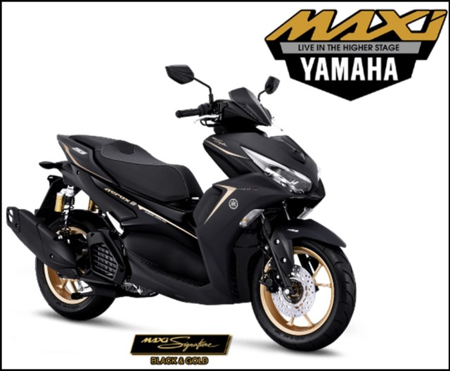 Yamaha All New Aerox 155 Connected ABS Facelift 2021