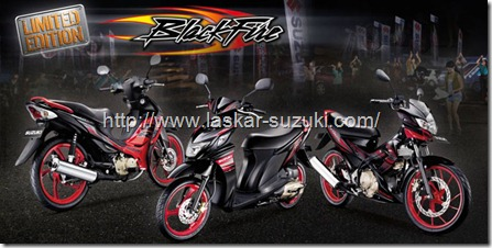 suzuki blackfire series