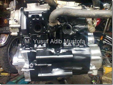 Modifikasi Motor Tua Modifikasi Honda GL 100 jadi 330 CC