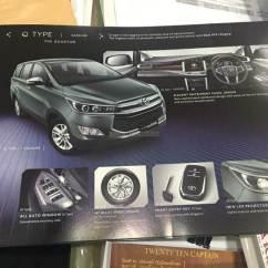 Harga All New Kijang Innova Q Corolla Altis Launch Date Brosur Toyota 2016 Bocor Di Internet Pakai Led Projector Headlamp 04 Pertamax7