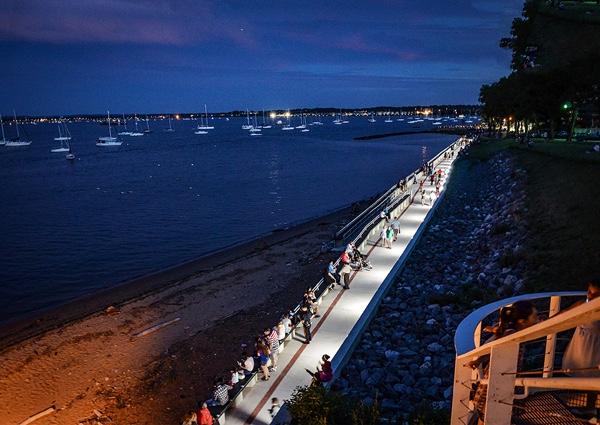 Waterfront Walkway Renovated Perth Amboy Now