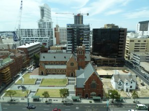 What a view of the heritage precinct