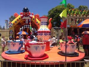 Teacups Big Kids Carnival Wanneroo 2016
