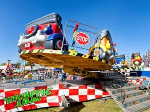 Traffic Jam Big Kids Carnival Wanneroo 2016