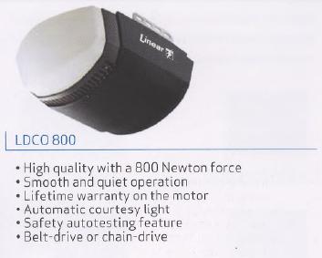 LiftMaster 8500 wall mounted garage door opener