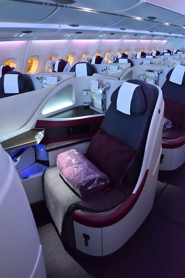 Qatar Airways A380 Perth to Doha