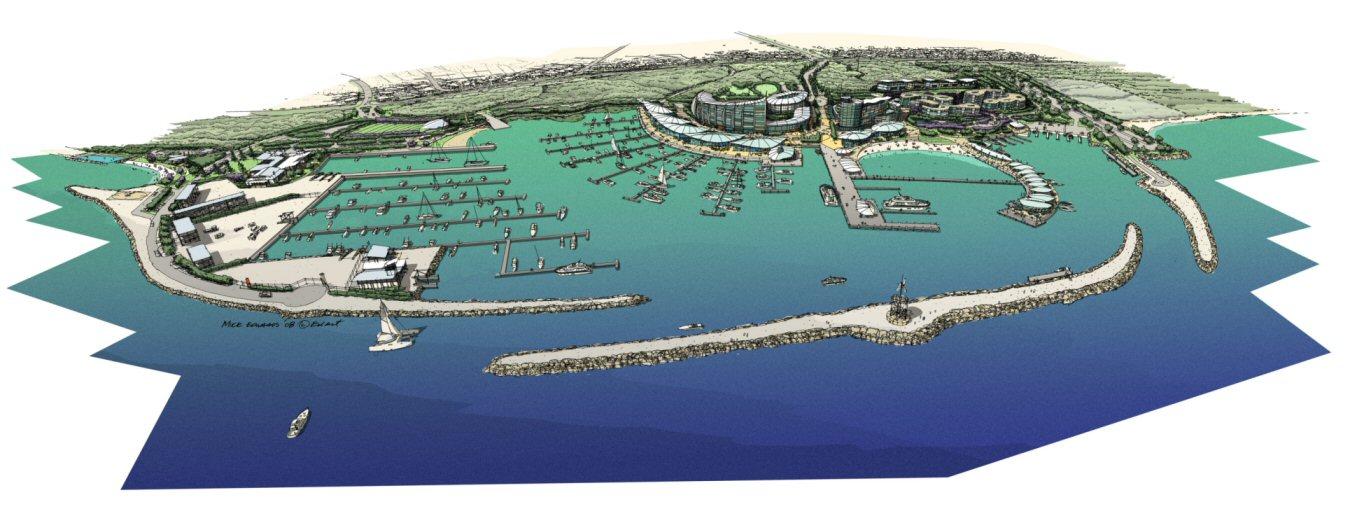 ocean reef marina plan