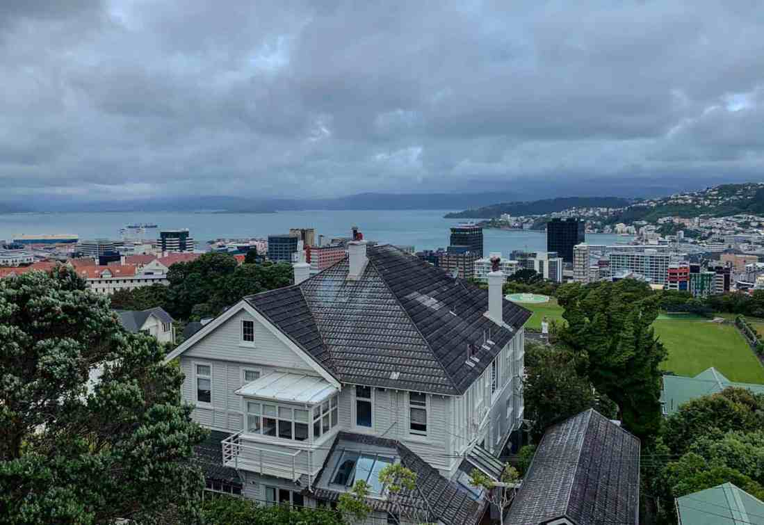 View from Cable Car Kelburn Hill