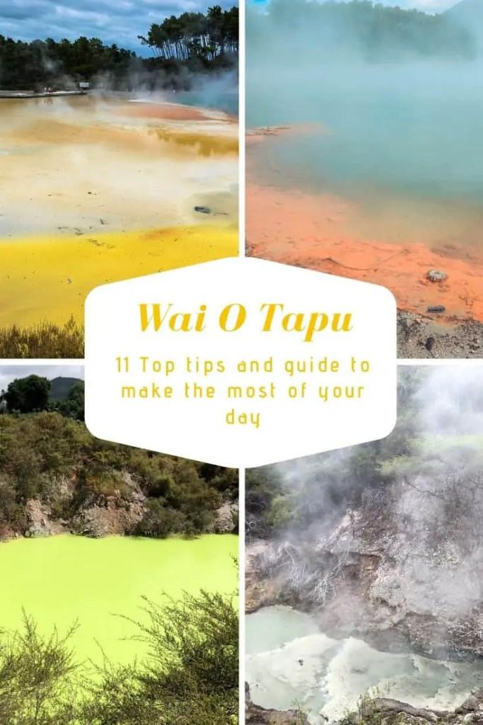 waiotapu thermal wonderland see champagne pool artists palette devils bath
