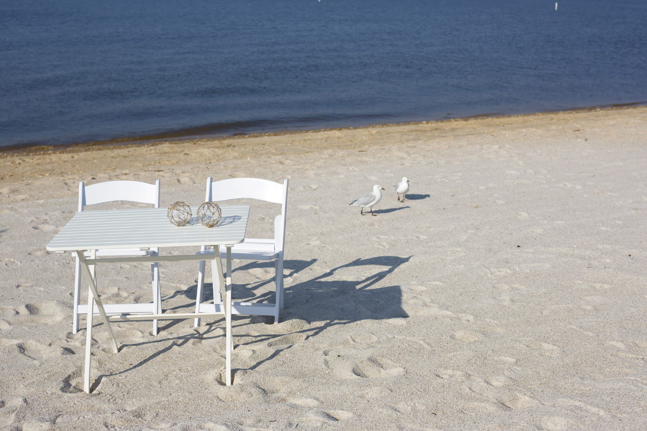 table and chair hire small apartment chairs perth wedding beach signing boutique weddings