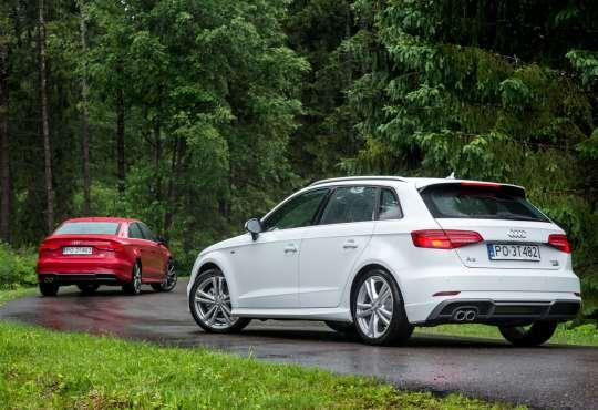 Audi A3 Sportback/Sedan 2016