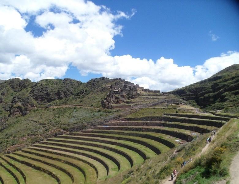 Inkastadt Pisac, Peru, Peru Tourismus, Cusci