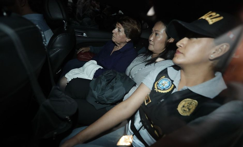 Keiko Fujimori fue detenida de forma preliminar el 10 de octubre del 2018. (Foto: GEC)