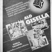 """""""Alo Gisela """"-""""PanamericanaTV""""-1987"""