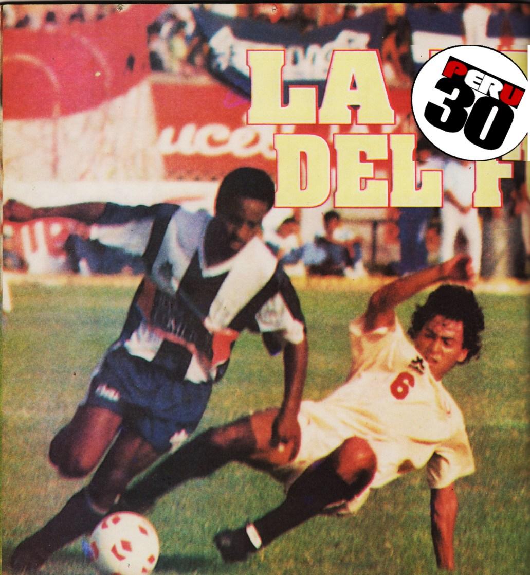 """Juan Carlos Bazalar De La """"U"""" En El Primer Clásico De 1992 En El Estadio  Nacional"""