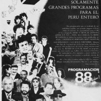 Panamericana Television, Programacion 1988