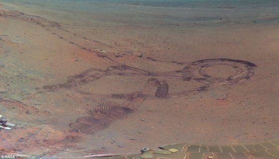 FOTOS: NASA publica las mejores imágenes tomadas a Marte hasta el momento