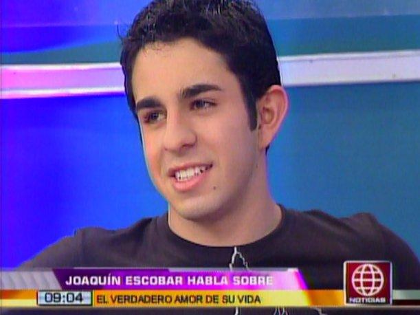 """Joaquín Escobar, 'Jhonny' de """"Al fondo hay sitio"""", confiesa que tiene enamorada (VIDEO)"""