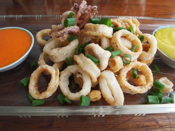 Chicharron de calamar fried calamari Life is tastier