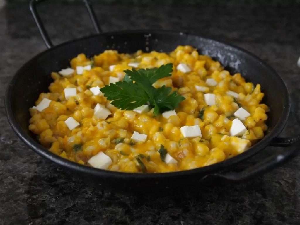Guiso de Trigo  Bsico En La Dieta Andina  PERU DELICIAS