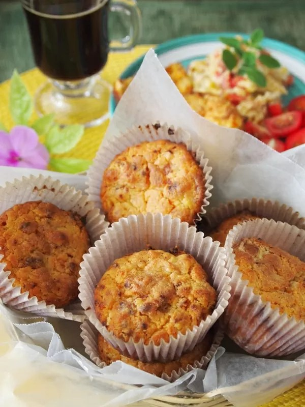 Maseca Muffins with Huacho Sausage  PERU DELIGHTS