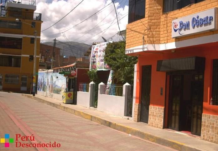 Local de la Cevichería Don Cesar-Huaraz-Ancash