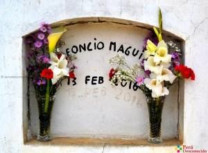 Tumba-de-Leoncio-Maguina (Cementerio-Huancall-Provincia-de-Aija)