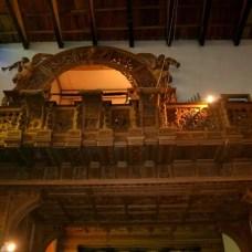 Interior de la Iglesia de Chacas