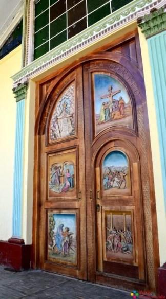 Puerta de la Iglesia de la Merced.