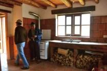 Cocina en los bungalows