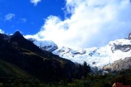 Nevados en la ruta Huaraz-San Luis