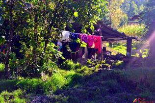 Ropita después de lavada.