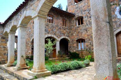 Vista de la parte interior de la Casa Nazareth.