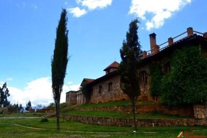 La Casa Nazareth vista desde la parte posterior