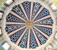 Cúpula del Santuario de Pomallucay vista desde el interio