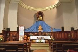 Iglesia de San Luis vista por dentro