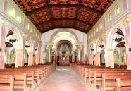 El Santuario del Señor de Pomallucay por dentro