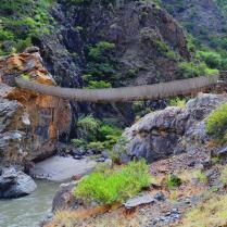 Puente de Pucayacu en el distrito de Yauya-Provincia de Carlos Fermín Fitzcarrald.
