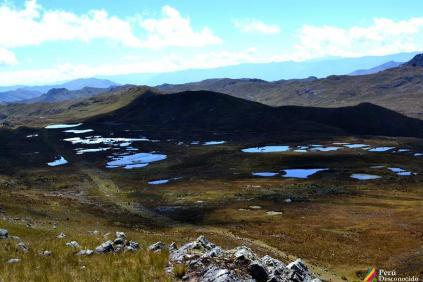 Primer avistamiento del Camino Inca