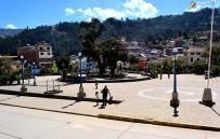 Plaza de Armas de Pomabamba