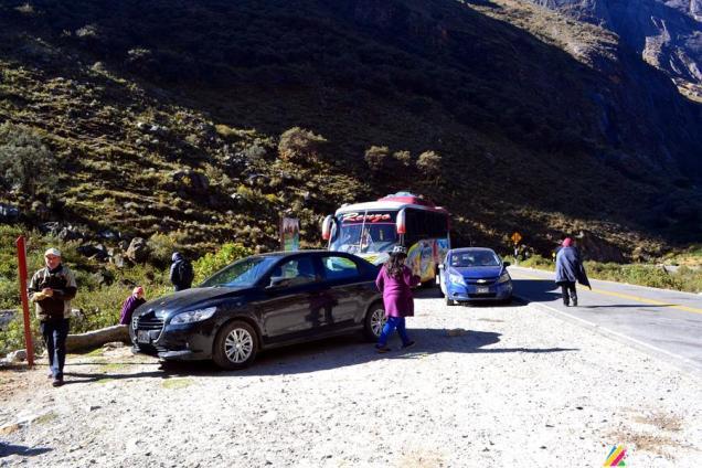 Si decides salir a las 6:45 am desde Huaraz, allí puedes tomar un rico desayuno