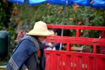 Un anciano con su traje típico de Pomabamba