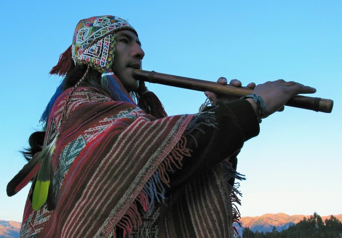 Andean Flute Player - Cusco (6)