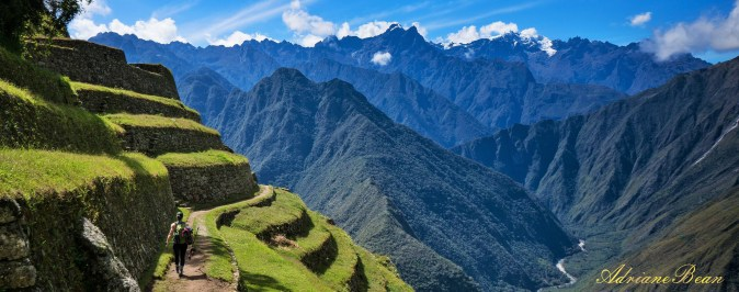 Inca Trail Terraces - Peru Eco Expeditions