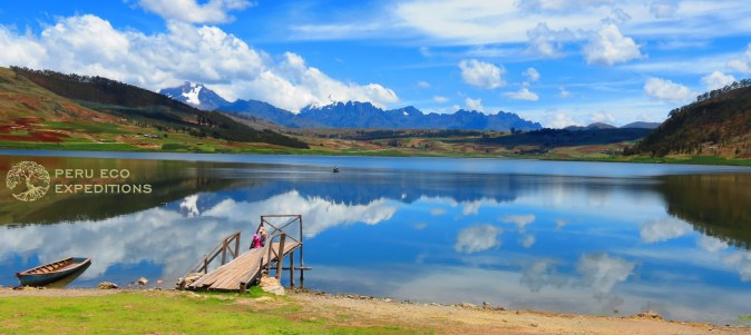 Huaypo Lake Boat Dock - Huaypo Luxury Picnics - Peru Eco Expeditions