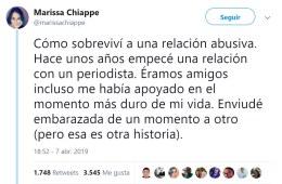 Marissa Chiape agresión