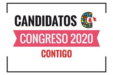 Candidatos al Congreso Contigo 2020